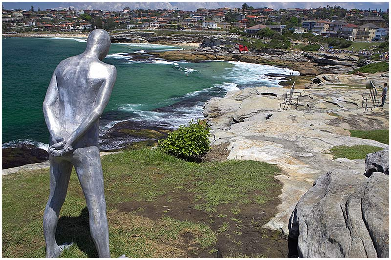 Bondi to Tamarama Coastal Walk, Thursday November 17th 2005. <br /> <br /> Sculpture by the Sea. <br /> <br /> EXIF DATA <br /> Canon 1D Mk II. EF 17-35 f/2.8L@17mm 1/125s f/8 ISO 200.
