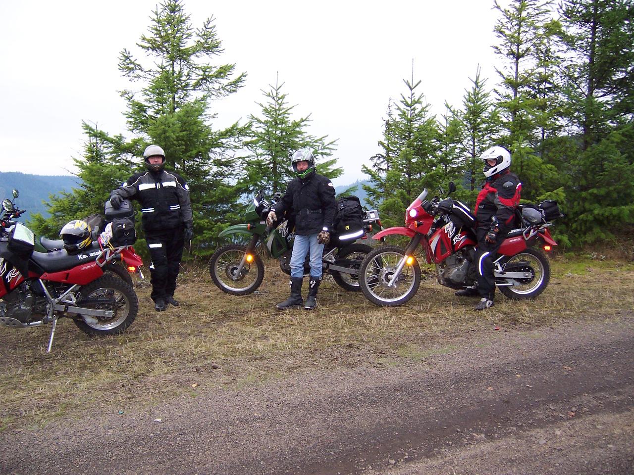 KLR 650's
