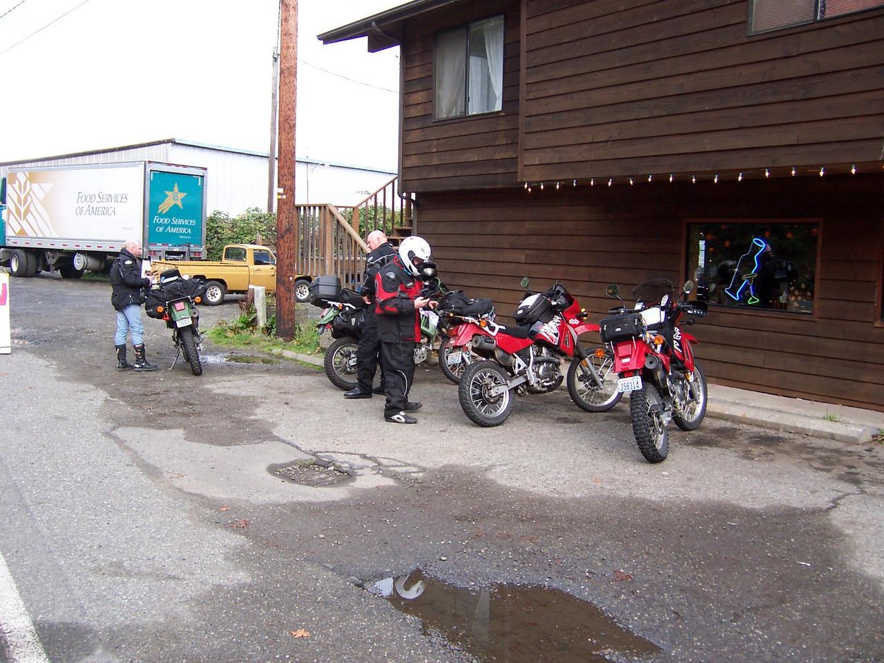 Union Tavern, on Hood canal. Steve, Dan, & Sean