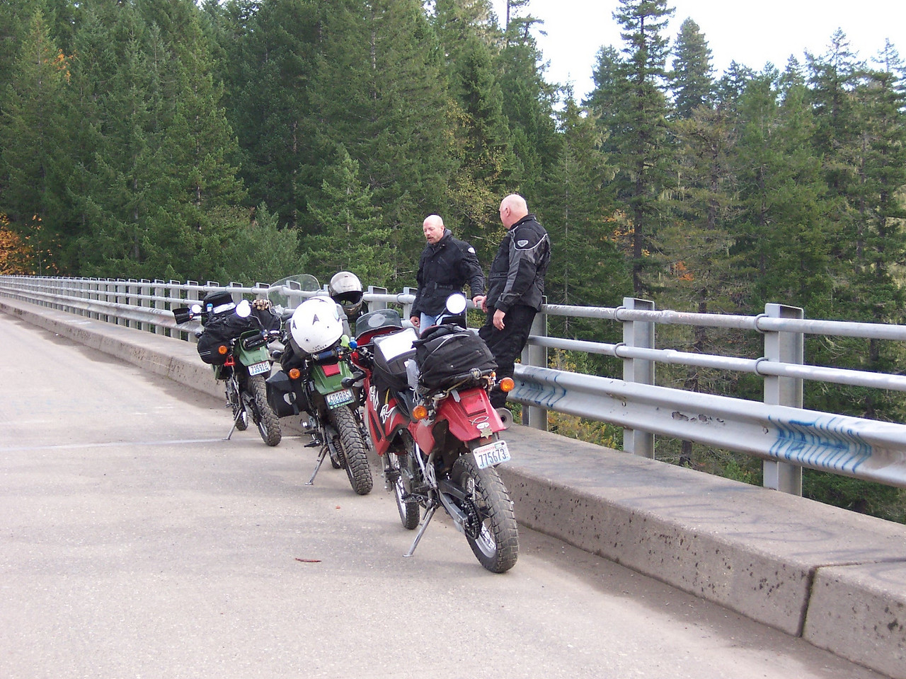 On the High Steel Bridge