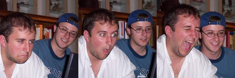 Three of The Many Expressions of Matt