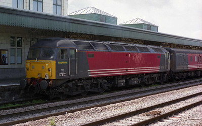 47812 was on the rear of 1Z26, and later worked the 1900 return leg to Southend (10/04/2005)