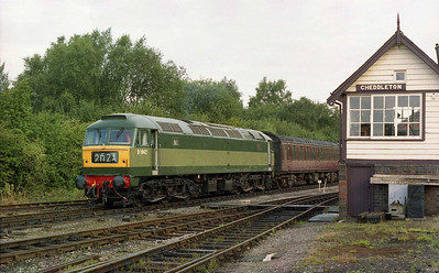 47192 waits to depart from Cheddleton with 1B51 0910 to Kingsley & Froghall during a chartered running day at the Churnet Valley Railway (26/08/2005)