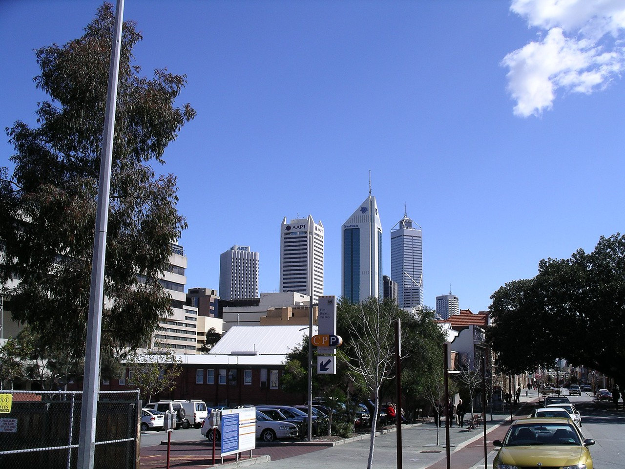 Perth city
