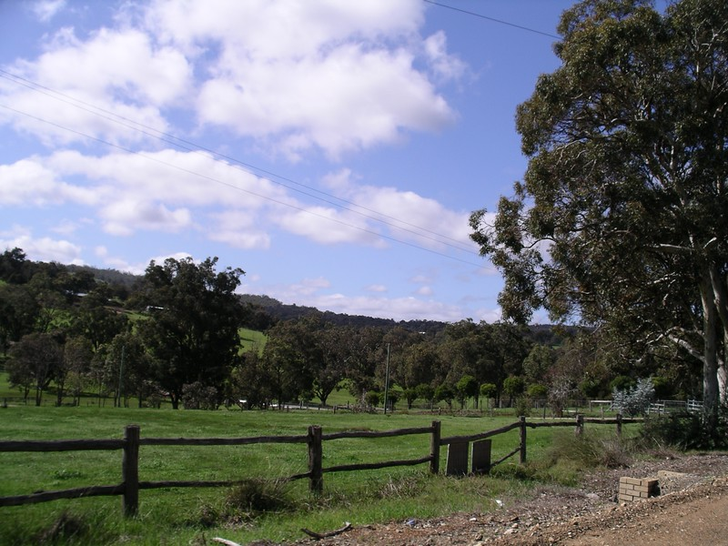 Countryside south of Perth