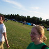 Katie in the car-field