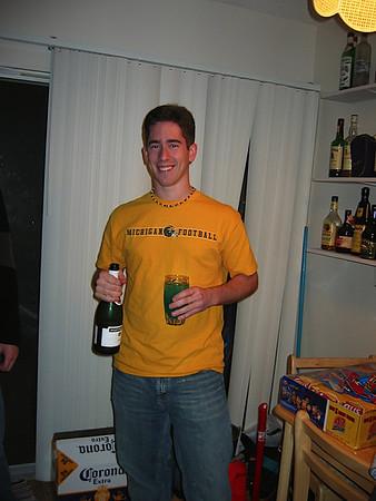26 - Andrew drinking by himself on NYE.JPG
