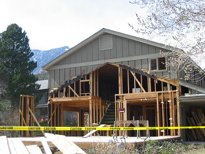 Selch House Being Gutted and Remodeled 2005 March