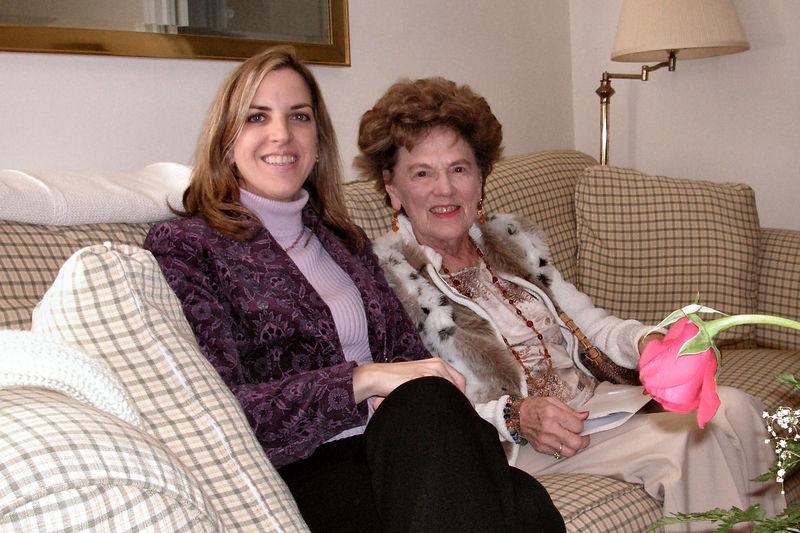 Elizabeth and Aunt Margie