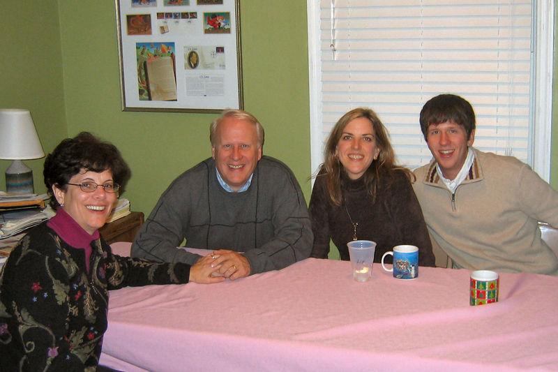 Mary, Wally, Elizabeth, and Patrick