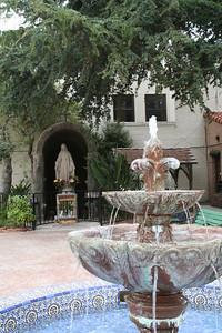 Mission garden in Ventura