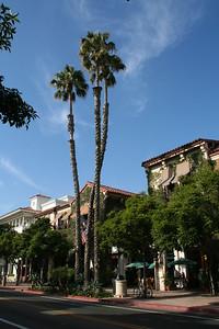 Street in central Santa Barbara