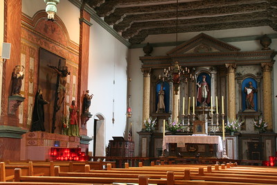 San Buenventura mission church