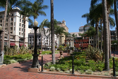 Park in downtown San Diego