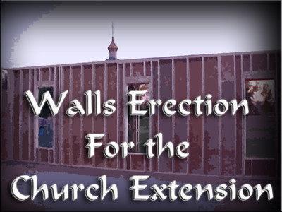 Walls Erection for the Church