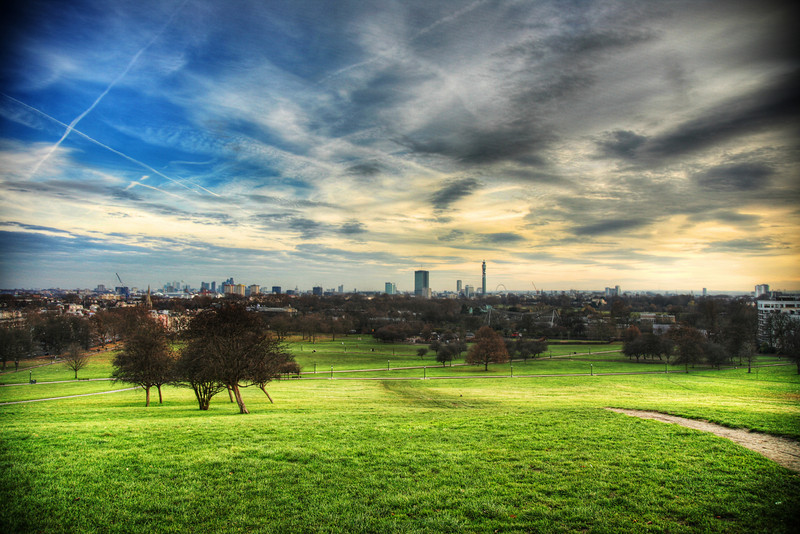 london from primrose hill 2