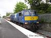 112 arrives at Killarney with the 1455 Cork - Tralee. BR Van 3183 at Killarney. Tues 24.05.05