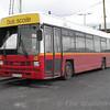 "Bus Eireann ""LS"" school bus takes its weekend rest at Claremorris. Sun 01.04.05"