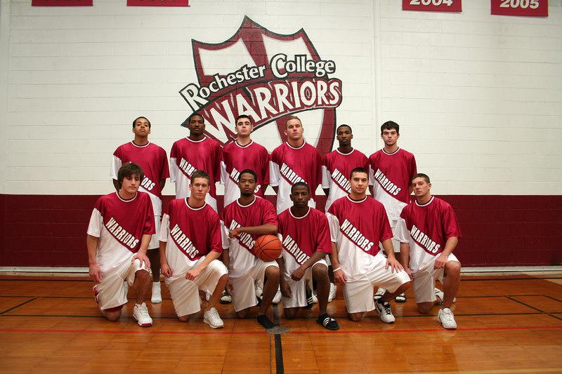 JV Basketball Team Photo