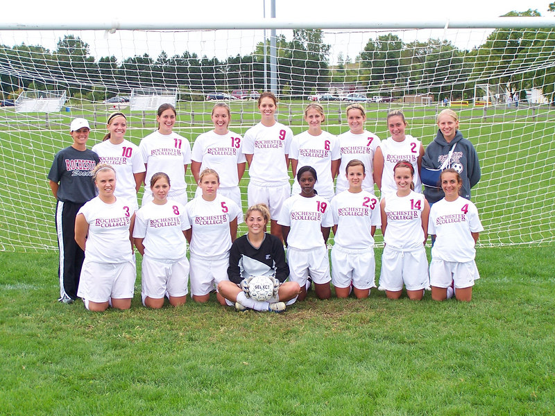 2006 Women's Soccer Team Photo