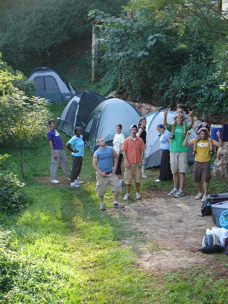 Campsite on a Nile Terrace