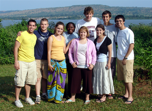 The 2006 Summer Interns to Jinja, Uganda