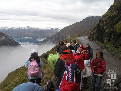 Midde School glacier trip