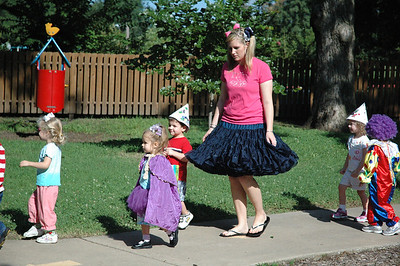 3-year-old Circus Parade