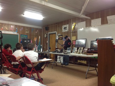 Civil War guest speaker Mr Robert Syephens