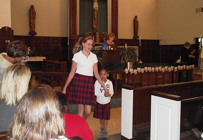 Kindergarten & 8th Grade Liturgy 2020