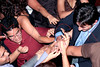 Bollywood remix dance party, New York, USA