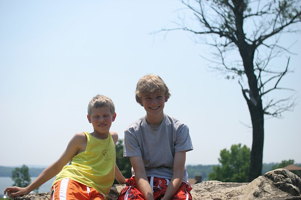 Camping with Jack and Sam - June 18-19