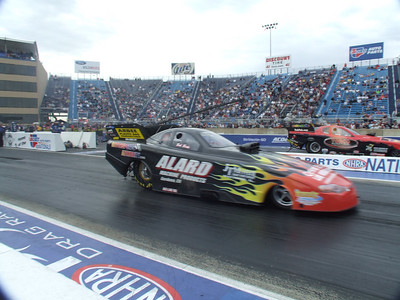 Nitro Funny Car Action