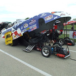 Top Alcohol Funny Car Staging Lanes :