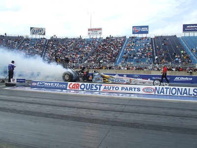Top Fuel Dragster Burnouts