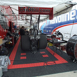 Top Fuel Dragster Pits :