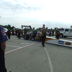 Top Fuel Dragster Staging Lanes :