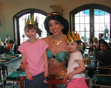2006   San Diego Zoo  ,  Disney California , Princess  Lunch 164