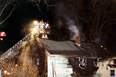 Photo's from Closter 3rd alarm Ruckman x Peimount 1-18-06