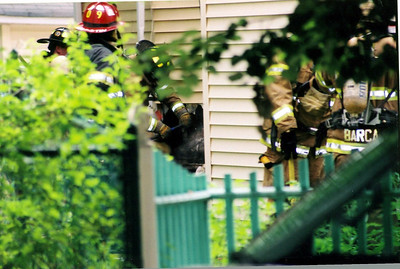 Photo's from  Englewood 2nd alarm Propest St. House Fire 7-15-06