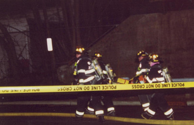 Photo's from Hawthorne General alarm building fire 3-22-06