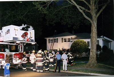 Photo's from  Paramus Working house fire Abbott Rd. 8-19-06