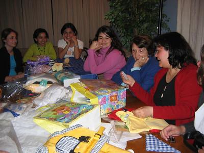 Baby shower Tommy - Julio 2006, Arica Chile