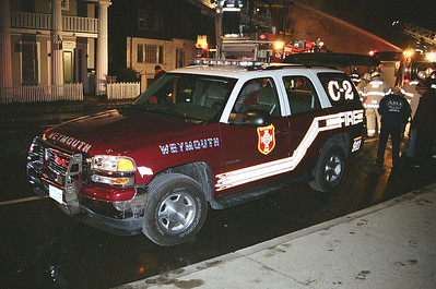 3rd Alarm Weymouth Ma. 90 Commercial Street 3-11-06