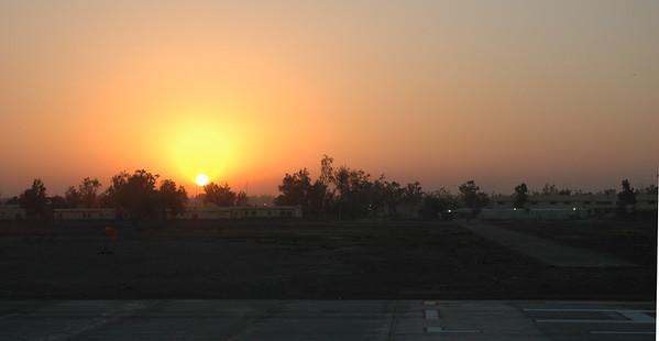 SunriseOverLandingPad