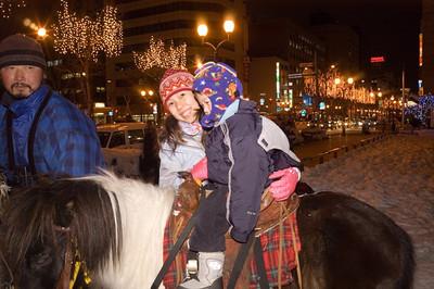 Horse riding in Sapporo