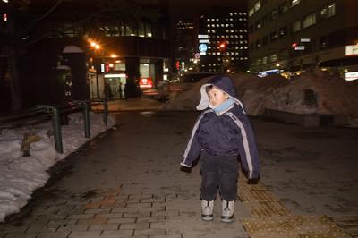 Sean in Sapporo