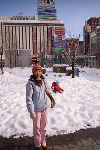 Mom in Sapporo