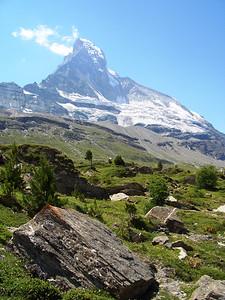 Luscious orienteering terrain:  Schwarzsee map, Zermatt, Switzerland
