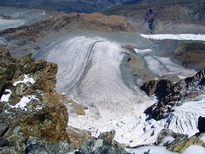 Klein Matterhorn glacier